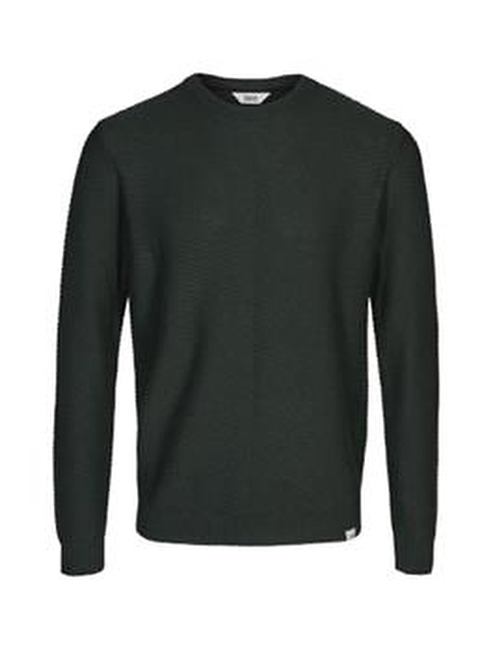 Alexian O Neck Knit Solid